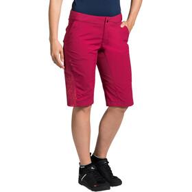 VAUDE Downieville Shorts Women crimson red